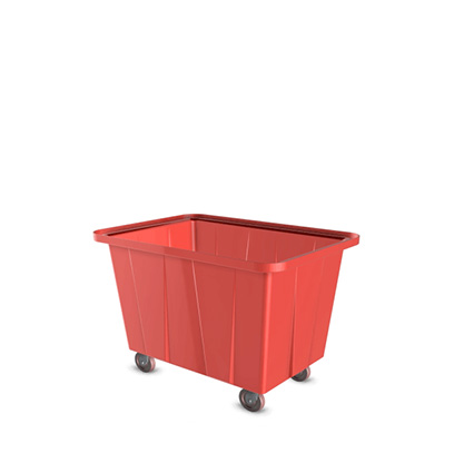 LT-RED - LAUNDRY TROLLEY